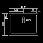 EGER (599-1290S) SMC 900*1200*35 ПРЯМОУГОЛЬНЫЙ