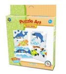 SAME TOY PUZZLE ART OCEAN SERIAS 136 ЕЛ. 5990-4UT