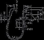 HANSGROHE LOGIS ОДНОРЫЧАЖНЫЙ С ГИГИЕНИЧЕСКИМ ДУШЕМ (71290000)