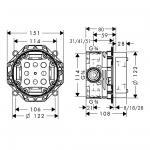HANSGROHE IBOX universal 01800180