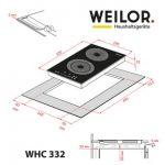 Weilor WHC 332 BLACK